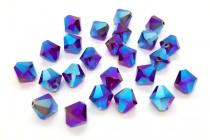 Garnet AB2X 5301/5328 Swarovski Elements Crystal Bicone Bead