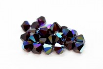 Garnet AB Swarovski Crystal Bicone Beads 5301 - Factory Pack Quantity