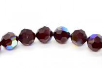Garnet AB Swarovski Crystal Round Beads 5000 - Factory Pack Quantity