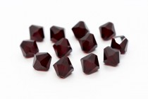 Garnet 5301/5328 Swarovski Crystal Bicone Beads - Factory Pack Quantity