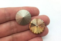 Crystal Golden Shadow 1122 Swarovski Crystal Rivoli Stone