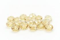 Crystal Golden Shadow 5040 Swarovski Elements Crystal Faceted Briolette (Rondelle ) Bead