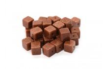 Brown Goldstone (Man Made) Cube Gemstone Beads