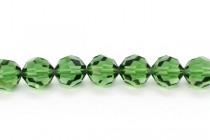 Green Turmaline 5000 Swarovski Elements Crystal Round Beads
