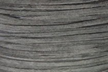 Flat Suede Lace Cord - Gray (2mm)