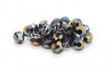Crystal Heliotrope Swarovski Crystal Round Beads 5000