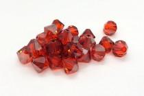 Hyacinth Satin Swarovski Crystal Bicone Beads 5301/5328 - Factory Pack