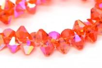 Hyacinth AB Swarovski Crystal Top Drilled Bicone Pendants 6301