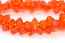 Hyacinth Swarovski Crystal Top Drilled Bicone Pendants 6301