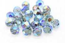 Indian Sapphire AB 2x 5000 Swarovski Elements Crystal Round Bead
