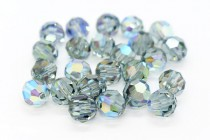 Indian Sapphire AB 5000 Swarovski Elements Crystal Round Bead