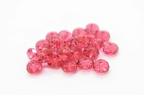 Indian Pink 5040 Swarovski Crystal Faceted Briolette (Rondelle ) Bead