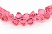 Indian Pink 6301 Swarovski Crystal Bicone Pendant