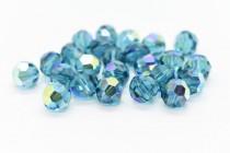 Indicolite AB Swarovski Crystal Round Beads 5000 - Factory Pack