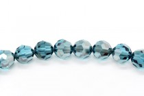 Indicolite Satin 5000 Swarovski Elements Crystal Round Bead