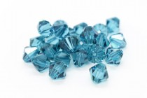 Indicolite 5301/5328 Swarovski Elements Crystal Bicone Bead