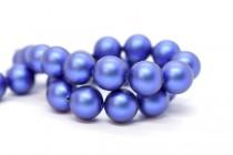 Crystal Iridescent Dark Blue - Swarovski Round Pearls 5810 - Factory Pack Quantity