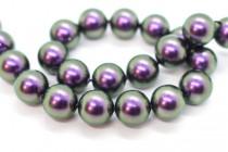 Crystal Iridescent Purple - Swarovski Round Pearls 5810