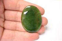 Nephrite/Canadian Jade (Natural) Oval Gemstone Cabochons - AA Grade