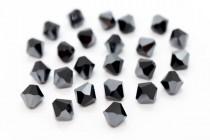 Jet Hematite 5301/5328 Swarovski Crystal Bicone Bead