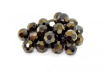 Jet Nut AB 2x 5000 Swarovski Elements Crystal Round Bead