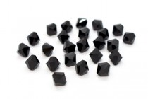 Jet Swarovski Crystal Bicone Beads 5301/5328 - Factory Pack