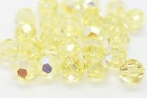 Jonquil AB Swarovski Crystal Round Beads 5000 - Factory Pack