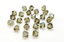 Jonquil Satin 5301/5328 Swarovski Crystal Elements  Bicone Bead