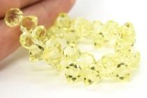 Jonquil Swarovski Crystal Top Drilled Bicone Pendants 6301