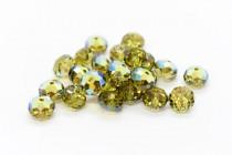 Khaki AB 5040 Swarovski Elements Crystal Rondelle Bead