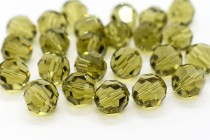 Khaki 5000 Swarovski Elements Crystal Round Bead