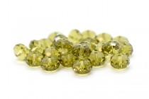 Khaki 5040 Swarovski Crystal Faceted Briolette (Rondelle ) Bead