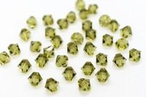 Khaki 5301/5328 Swarovski Crystal Bicone Bead