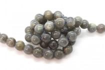 Labradorite (Natural) Smooth Round Gemstone Beads