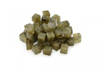 Labradorite (Natural) Cube Gemstone Beads