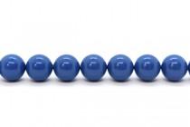 Crystal Lapis - Swarovski Round Pearls 5810 - Factory Pack Quantity