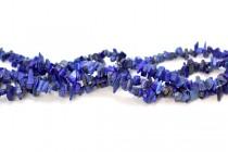 Lapis Lazuli (Natural) Irregular Chip Gemstone Beads