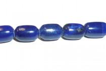Lapis lazuli, Natural, A Grade, Rice Oval gemstone Beads