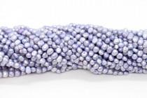 Dark Lavender (Dyed) Irregular Potato Freshwater Pearl Beads