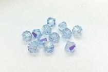 Lavender AB 5301/5328 Swarovski Crystal Elements Bicone Bead