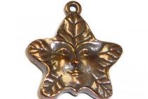 Antique Copper Plated Tree Spirit Charm - TierraCast®