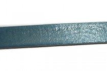 Greek Leather Cord Strap - Teal Blue
