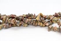 Leopard Skin Jasper (Natural) Chip Gemstone Beads