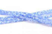 Light Blue Fiber Optic (cats Eye) Heishi Beads