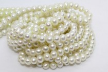 Potato Freshwater Pearls - Light Green - A Grade
