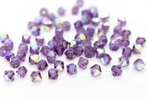 Lilac  AB 5301 Swarovski Elements Crystal Bicone Bead