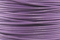 Greek Leather Cord - Round ( Light Purple Lilac )