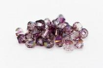 Crystal Lilac Shadow Swarovski Crystal Bicone Beads 5301/5328
