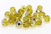 Lime AB  5000 Swarovski Elements Crystal Round Bead