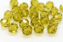 Lime 5000 Swarovski Elements Crystal Round Bead